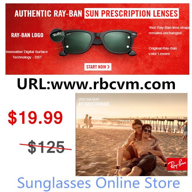 Sunglasses online store sales, limited-time special price of $19.99.