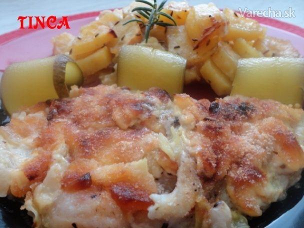 Nórska treska pečená v majonéze (fotorecept) - Recept