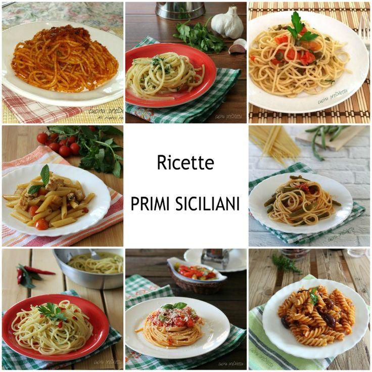 Ricette primi siciliani - piatti tradizionali | cucina preDiletta