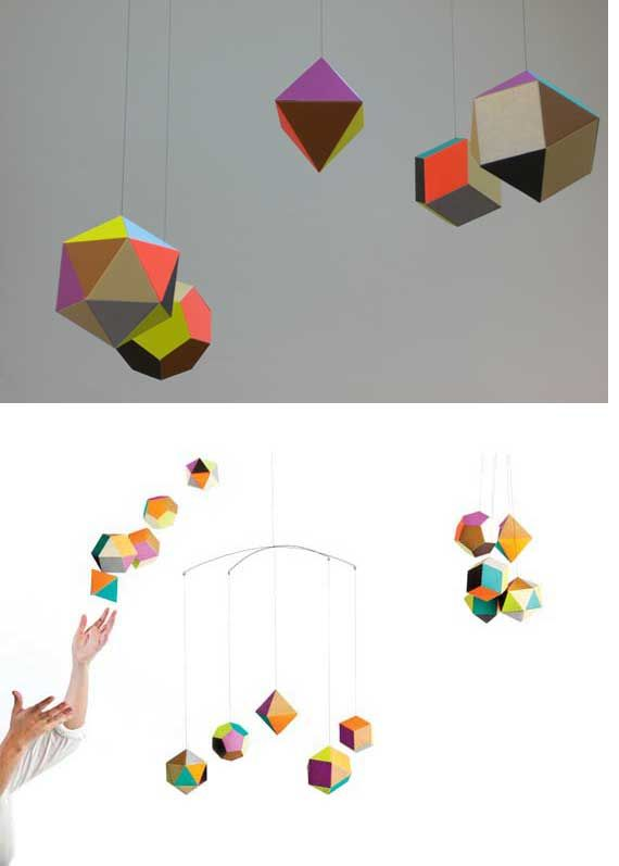 mobile: Perfect Mobiles, Geometric Mobiles, Baby Mobiles, Kids Spaces, Awesome Mobiles, Cribs Mobiles, Themi Mobiles, Mobiles 30 00, Kids Rooms