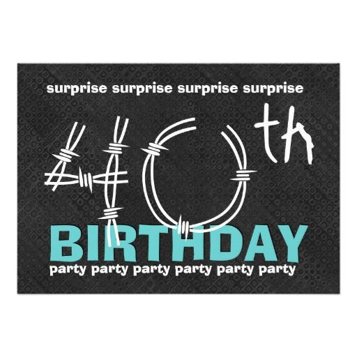M s de 25 ideas incre bles sobre 40th birthday invitation wording – 40th Birthday Party Invitation Ideas