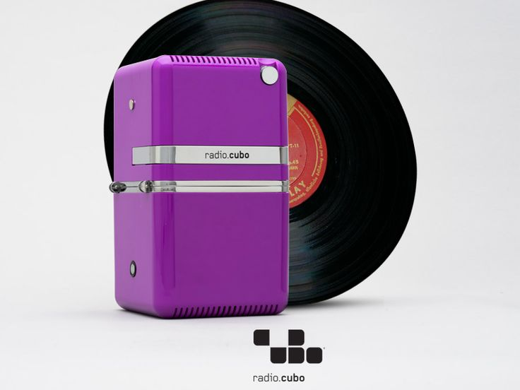Radio.cubo ts522d+ Brionvega Collection. Colours, bluetooth, dab+, Vinyl, digital, classic, vintage