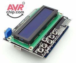 Arduino LCD and Keypad Shield :http://avrchip.com/arduino-lcd-and-keypad-shield/
