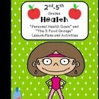 "This is a  set of 2 2nd-5th grade health lesson plans in the ""I Do, We Do, You Do"" format - Personal Health Goals and The 5 Food Groups. See previe..."