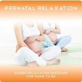 Prenatal Relaxation is perfect for deep relaxation during pregnancy and the first stages of labour.
