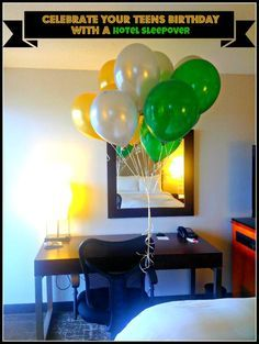 Celebrate your teen's birthday with a hotel sleepover - Family Review Guide