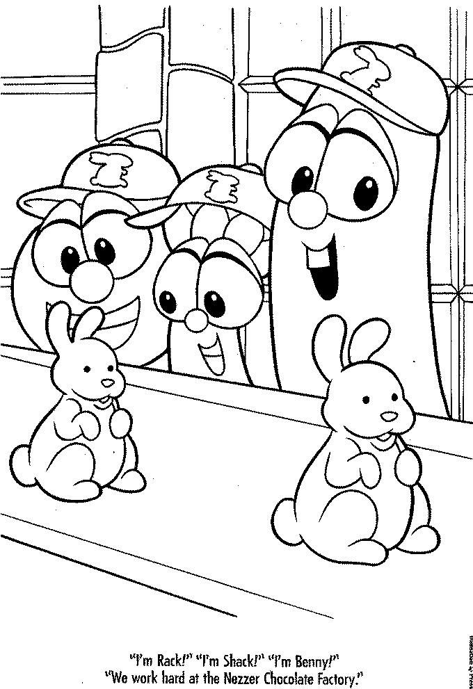 Veggie Tales Coloring Book Coloring Books Disney Coloring Pages