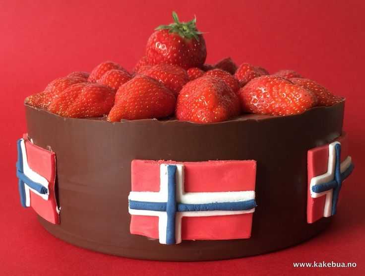 Bringebærmousse sjokolademousse kake sjokoladeskål 17 mai
