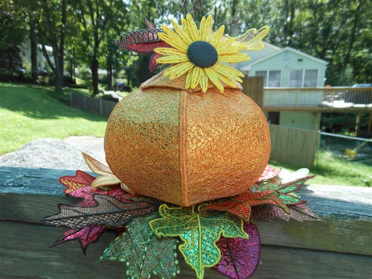 Pams' 3D Pumpkin Project - This project was completed by one of my customers.