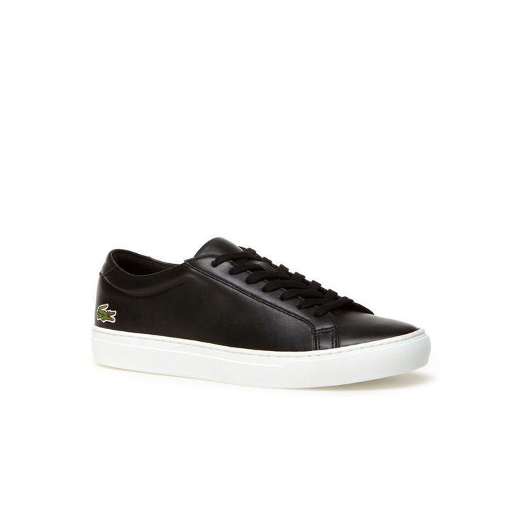 Chaussures de sport à lacets avec revêtement en cuir170.00BOSS v3Yhi