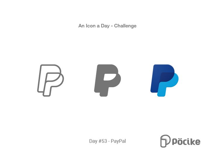 Icon Challenge Day 53 PayPal