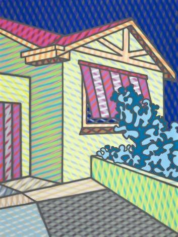 Howard Arkley's - colour, rhythm, pattern