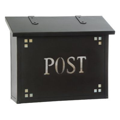 Americas Finest Lighting Pasadena Large Mailbox With Post Wording Gold Iridescent - AF-23-POST-OP-GI, Durable