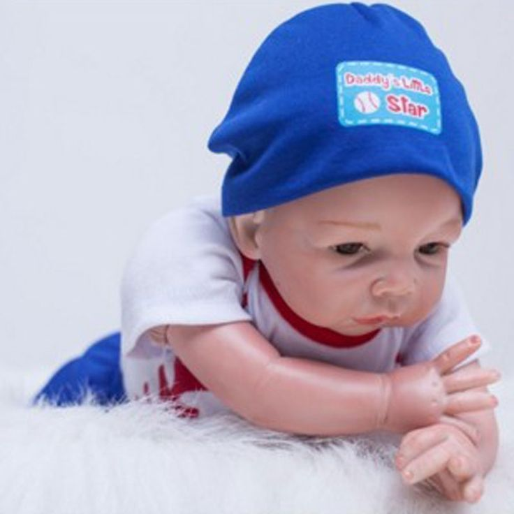 59.24$  Watch here - http://alicyx.shopchina.info/go.php?t=32805815276 - Lovely 22inch Soft Silicone baby reborn dolls lifelike doll 55 cm newborn toy Realistic Reborn Babies for Baby children birthday 59.24$ #buyonlinewebsite