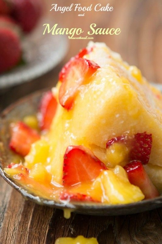 how to make mango sauce for desserts