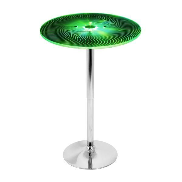 Spyra Bar Table Multi | Modern Bar Table by Lumisource at Contemporary Modern Furniture  Warehouse - 2