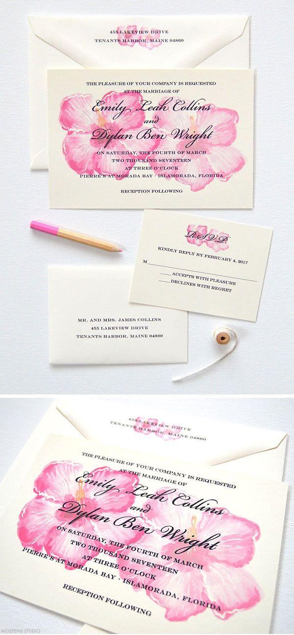 34 best beach wedding invitations images on Pinterest Beach - best of wedding invitation maker laguna