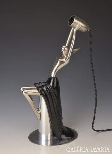 Art Deco Asztali Lámpa / Art Deco Lamp