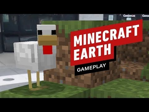 b48114f6b5c8a0 17 Minutes of Minecraft Earth Closed Beta Gameplay - #followForMore #Tech  #videos #