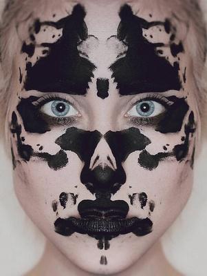 Rorschach face...