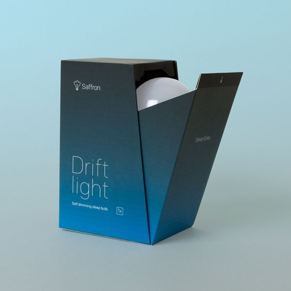 Drift Light Packaging by Andrew T. Matthews, via Behance