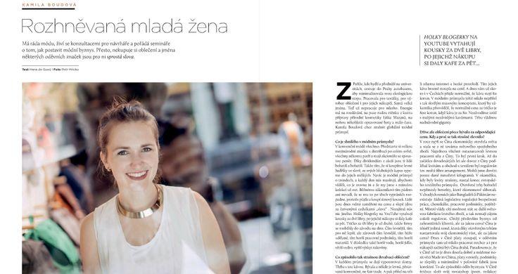 Rozhovor s Kamilou  - E15/ZEN 09/15