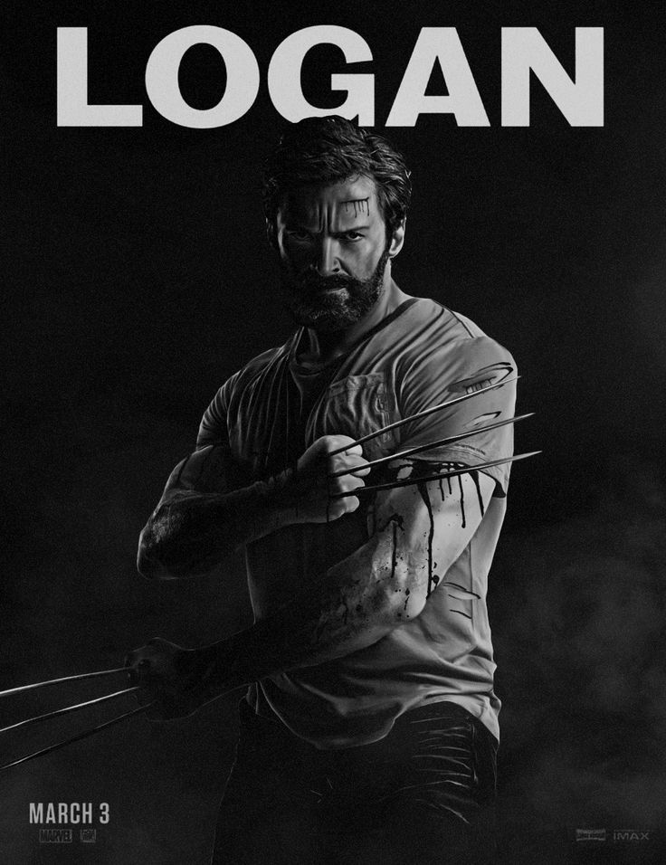 Alternate logan movie poster