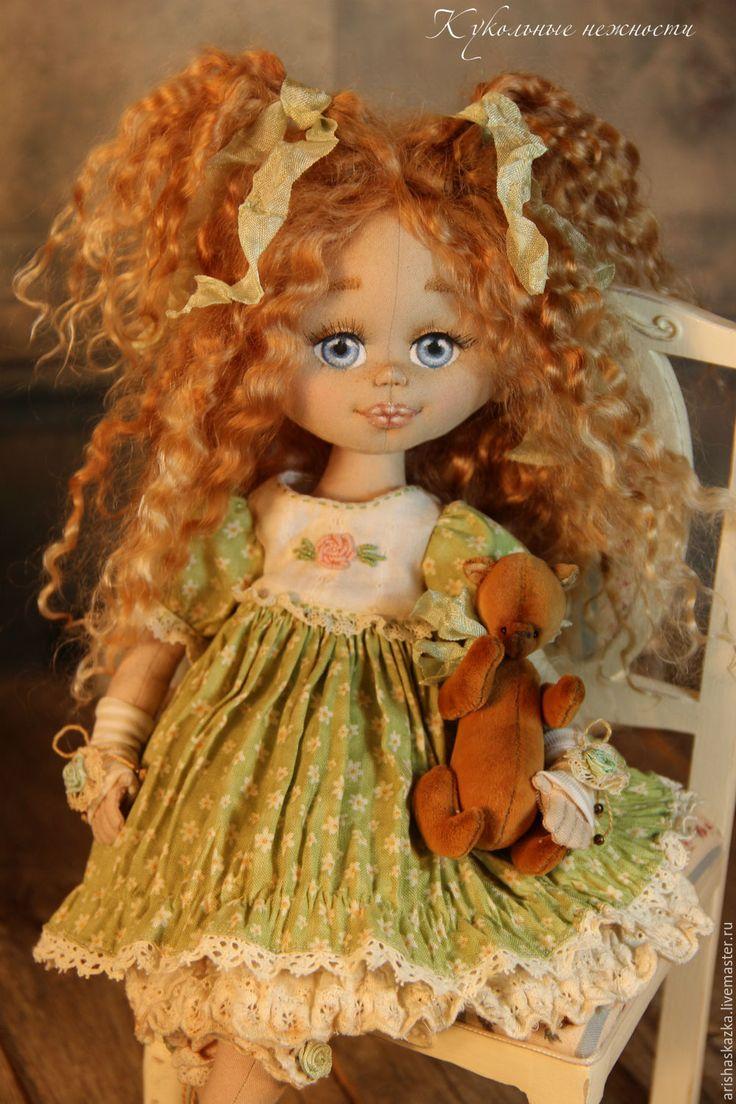 Купить Дуняша . Кукла авторская . Кукла ручной работы . - детство, тула, Ариша
