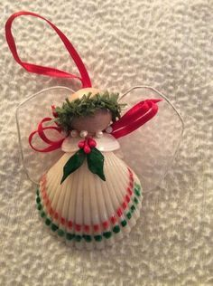 1000+ ideas about Shell Ornaments on Pinterest | Seashell Ornaments, Oyster Shells and Ornaments