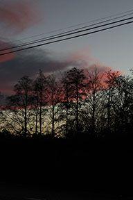 Sunset outside Athlone