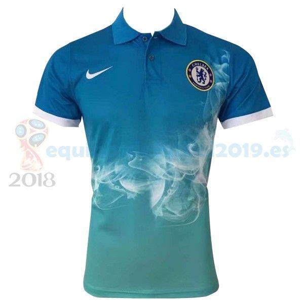 252df8e568558 Camisetas De Futbol POLO  Equipos De Futbol Baratas 2018 - Futbol  Originales Polo Chelsea 2017