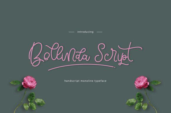 Bellinda Script by thirtypath on @creativemarket