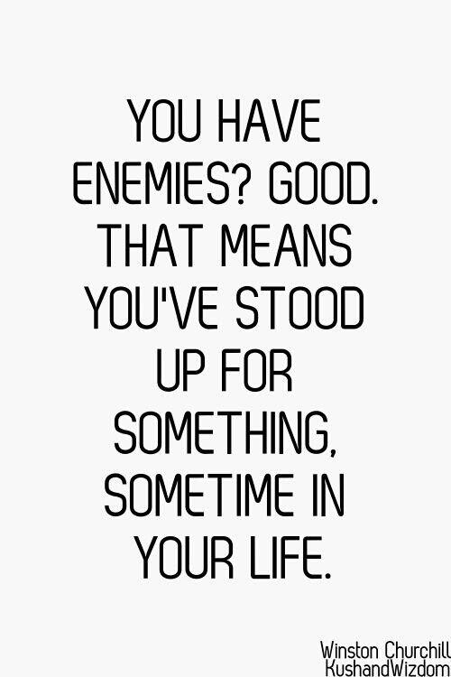 Especially yourself!