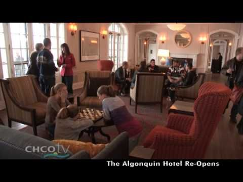The Algonquin Resort Re-Opens