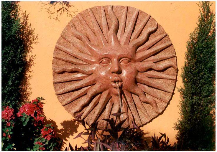 Fuentes para jardin fuente de jardin de pared modelo - Modelos de fuentes para jardin ...