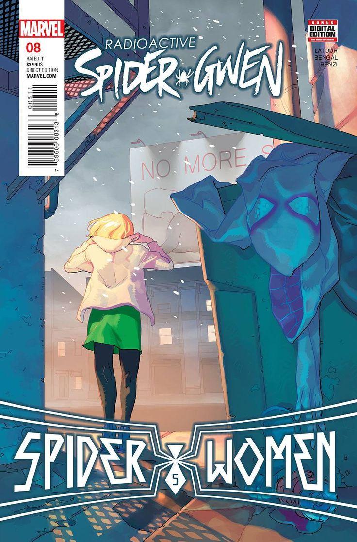 Radioactive Spider-Gwen (2015) Issue #8 SWO