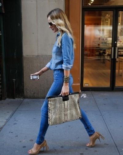Blue Jean Babe: Denim Styles