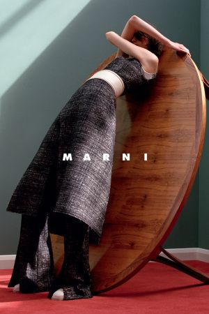 Marni unveils their Fall ads. [Photo: Jackie Nickerson]