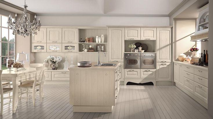 """Cucine classiche bianche: una soluzione chic """"evergreen""""   Idee ..."""