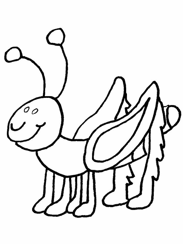 for toddlers Free Printable Bug Coloring Pages For Kids ...