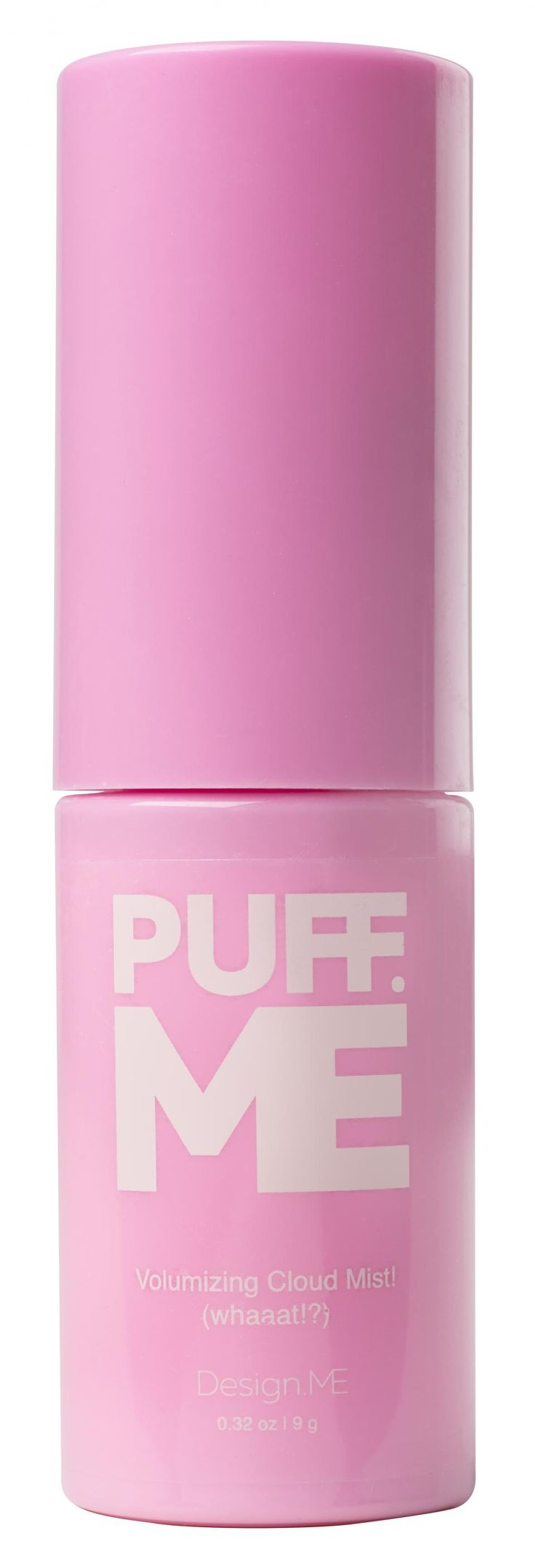 IntroducingPuff.Me Volumizing Cloud MistfromDesign.Me, a new breed of volumizing powder, that creates a literal cloud-burst of volume powder for high-precision root lift or texturizing. Puff.Me releases long, smooth, targeted puffs of powder that hit just the spot needed to boost volume, and add a touch of hold and texture, without drying the hair.