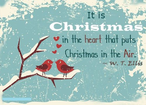 30  Merry Christmas Quotes - It is Christmas in the hearth that puts Christmas in the air.