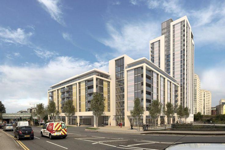 Cardiff city centre 23 storey apartment complex revealed for Capital Quarter development