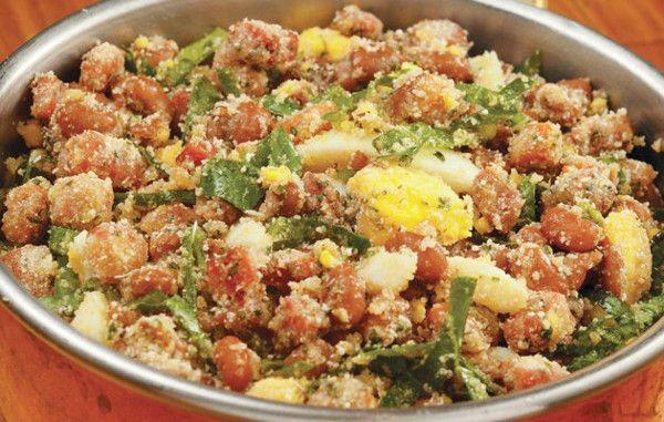 Receita de Feijão Tropeiro com Ovos , Delicioso e fácil de fazer! Aprenda a Receita!