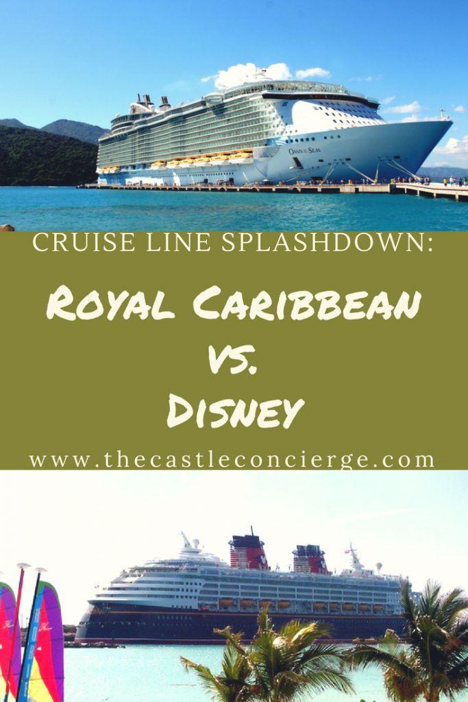 Royal Caribbean Vs Disney Cruise Line