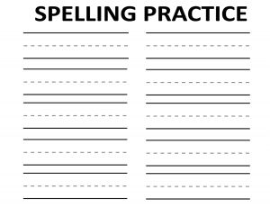 74 best images about education alphabet spelling on pinterest for Rainbow writing spelling words template