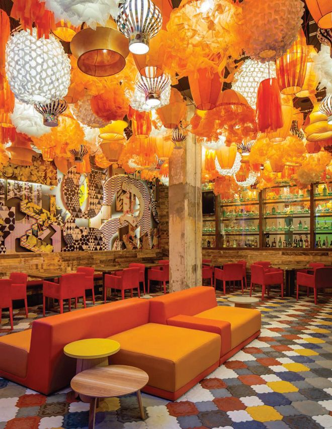 Generator Restaurant, Barcelona, Spain