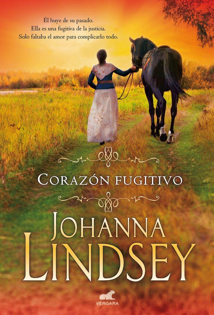 P R O M E S A S D E A M O R: Reseña | Corazón Fugitivo, Johanna Lindsey