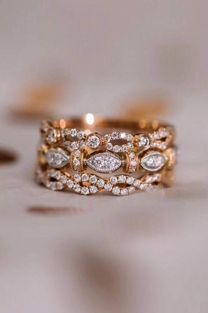 24 Unique Wedding Rings For Somebody Special Wedding Rings Unique Cool Wedding Rings Rose Gold Wedding Ring Sets