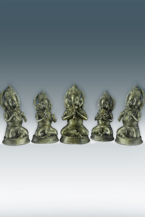 Sitting Ganesh Musicians ( GD001 )   For more details visit http://www.gitanjaliawards.com/User/View_Individual_Product1.aspx?P_Id=665